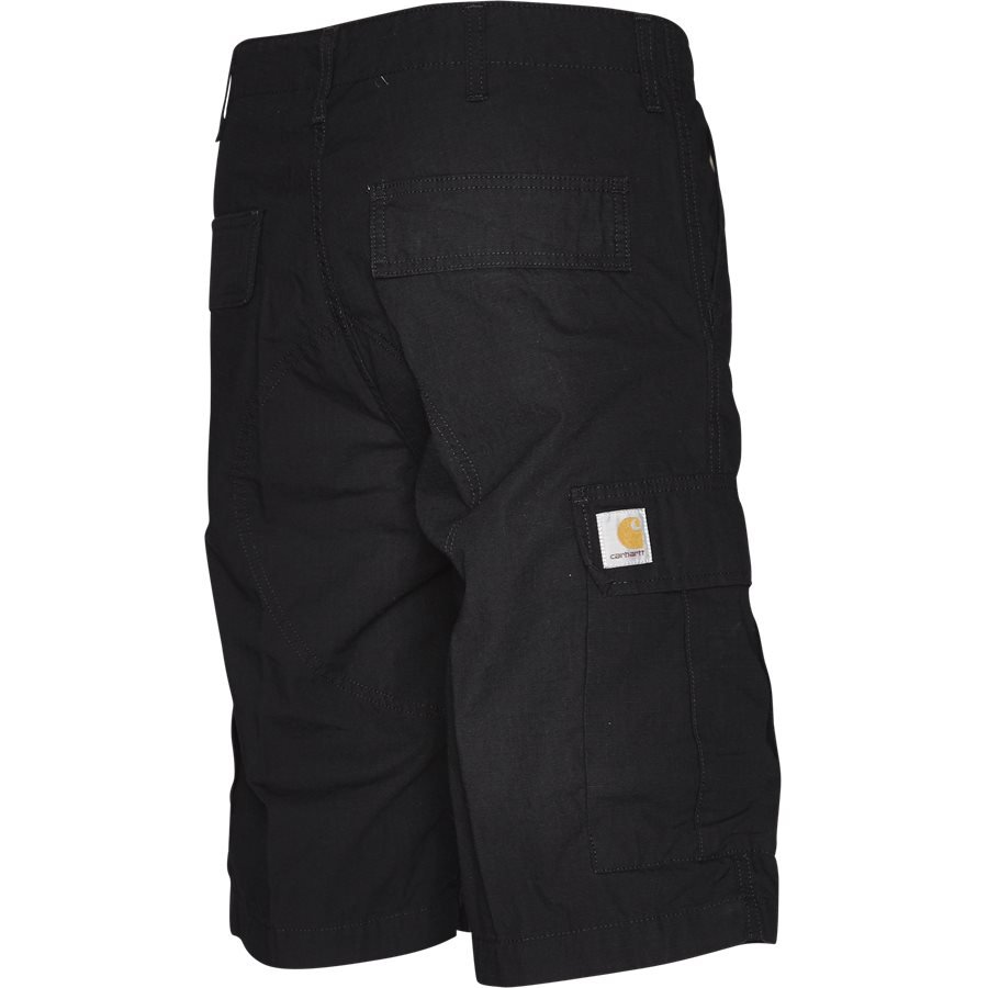 REGULAR CARGO SHORT. I015999 - Regular Cargo Shorts - Shorts - Regular - BLACK RINSED - 3